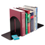 MMF Industries Fashion Bookends, 9 x 5 x 7, Black, Pair
