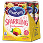 Ocean Spray Sparkling Juice, Citrus Tangerine, 8.4 oz Can, 4/Pack