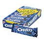 Oreo® Cookies, Chocolate w/Cream Center, 6-Cookie Pack, 12 Packs/Box