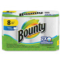 Bounty Select-A-Size Paper Towels, 77 Shts, 8RL/PK, White