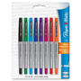 Papermate® Paper Mate Ultra Fine Flair Porous Point Pen, 8/Pack Asst