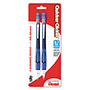 Pentel Quicker Clicker Automatic Pencil, 0.70 mm, Assorted, 2/Pack
