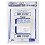 PM Company Triple Protection Tamper-Evident Deposit Bags, 9 x 12, Clear, 100/Pack