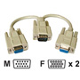 Cables To Go Video Y Splitter Display Splitter - 8 In