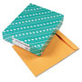 Quality Park Heavyweight Catalog Envelopes, Kraft, Gummed, 28 lb., 12 x 15 1/2,100/Box