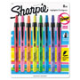 Sharpie® Accent Retractable Highlighters, Chisel Tip, Assorted Colors, 8/Set
