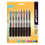 Uni-Ball Signo 207 Retractable Gel Pen, Assorted Ink, 0.7mm, 8/Set