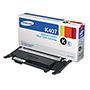 Samsung CLTK407S (CLT-K407S) Toner, 1,500 Page-Yield, Black