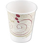 Solo 10 Oz Hot Paper Cups, Symphony Design, Pack of 1000