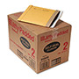 "Paper Jiffy® Recycled Padded Kraft Mailer, Self Seal Flap, 8 1/2""x12"", Case of 100"