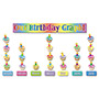 Scholastic Birthday Graph Bulletin Board Set, 62 Pieces, K-4