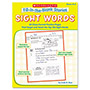 Scholastic Fill-in-the-Blank Stories, Sight Words, Grade K-2, 64 Pages