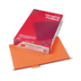 Smead Hanging Folders, Recycled, Legal, Orange, Color Matched 1/5 Cut Tabs, 25/Box