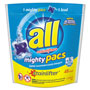 All Mighty Pacs Free and Clear Super Concentrated Laundry Detergent, 45/Pack
