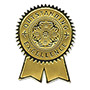 "Southworth Seal, Foil, "" Outstanding Excellence, "" 1 1/4"" x 2"" 12/Pack, Gold"