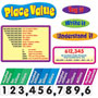 Trend Enterprises Place Value Bulletin Board Set