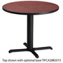 "Mayline 30"" Round Table Top, Mahogany"