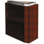 Mayline Eclipse Series False Pedestal For Desk Top, 15w x 36d x 27-3/4h, Warm Cherry