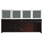 Mayline Eclipse Series Hutch, 70w x 14d x 39h, Espresso Walnut
