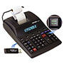 Victor 12 Digit Heavy Duty Commercial Printing Calculator with USB, White