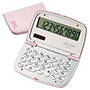Victor 10 Digit Breast Cancer Awareness Calculator, Pink & Chrome Compact