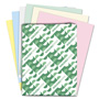 Wausau Papers Assortment 1 Premium Pastel Color Paper, 8 1/2 x 11, 24 lb, 500 Sheets/Rm