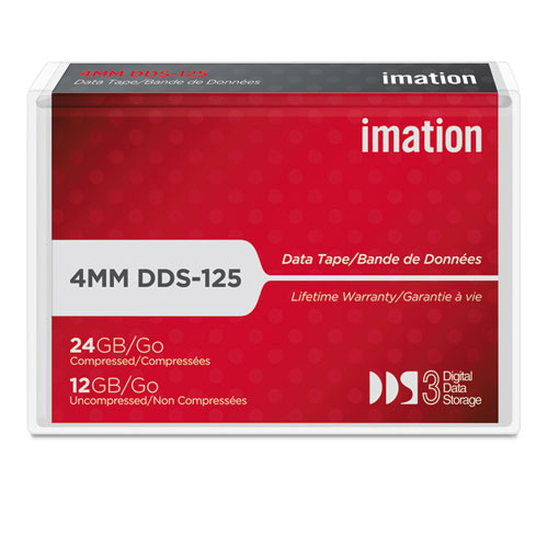 Imation Data Tape 4MM DDS 3 125M 12GB 11737