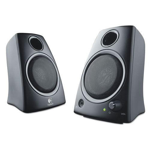 Buy external computer speakers - Logitech PC Speakers 980000417 Z130 Compact Laptop Speakers, 3.5mm