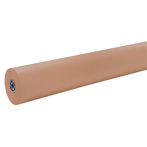 "Разное Pacon Kraft Wrapping Rolls, 40 lb., 36""x1000', Natural Kraft. Sold as Each"