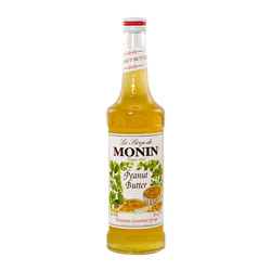 Monin Peanut Butter Syrup, 750ML. Case of 12