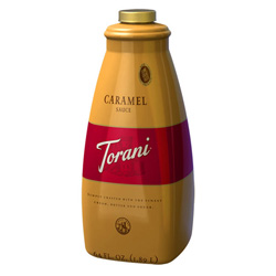Torani® Caramel Sauce, 64 oz Bottle