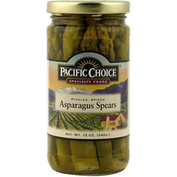 Pacific Choice Specialty 12 Ounce Pickled Asparagus in Jar