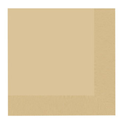 Paterson Pacific Parch Co Napkins, Natural, 2 Ply, 4 Packs of 1000