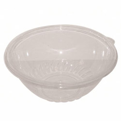 WNA Comet AISPB160CL 16 Ounce Clear Pack'N'Serv Bowl