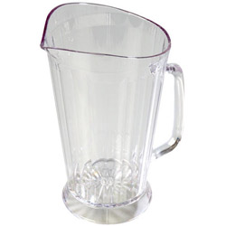 48 Ounce Crystalite Pitcher. Pack of 6