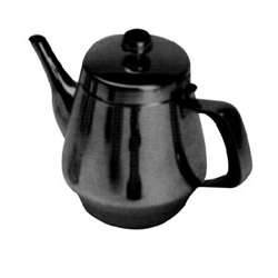 Misc Imports 32 Ounce Stainless Steel Tea Pot