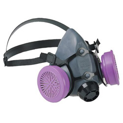 North Safety Products 5500 Series Low Maintenance Half Mask Respirator