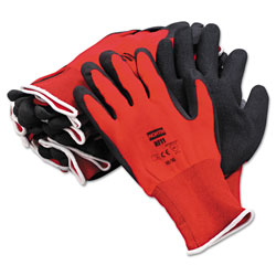 North Safety Products Northflex Red Nylon/foamPVC Glove 10xl 15 Gauge