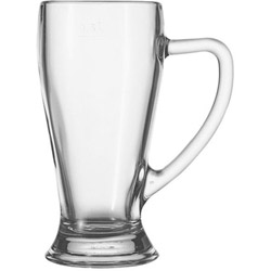 Bavarian 13 Ounce Handled Bar Glass. Case of 6