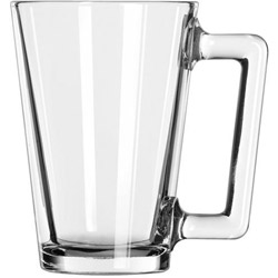 Libbey 5589 9 Ounce Mini Mixing Glass Mug. Case of 24