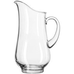 Libbey 17877241 76 Ounce Footed Elegant Crisa Pitcher. Case of 6 Pitchers