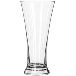 Libbey 1242 19.25 Ounce Heat Treated Flare Pilsner Glass. Case of 12