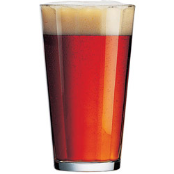 Glass Pub Tempered 16Ounce. Case of 24