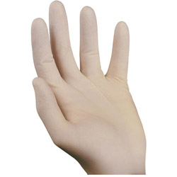 Ansell 516710 Powdered Latex Dispenser Gloves, Large