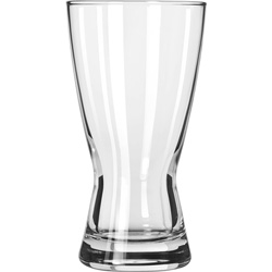 Libbey 1181HT 12 Ounce Heat Treated Hour Glass Pilsner Glass. Case of 24