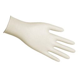 Memphis Glove Small 5 Mil Powdered Latex Glove Medical Grade