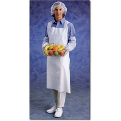 "Ansell Disposable Apron, 24"" x 42"""