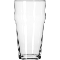 Libbey 14806HT 16 Ounce Heat Treated English Pub Pint Glass. Case of 36