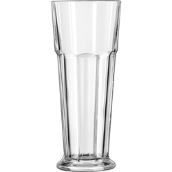 Libbey 15429 14 Ounce Gibraltar Footed Pilsner Glass. Case of 24
