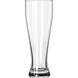 Libbey 1610 23 Ounce Hourglass Pilsner. Case of 12